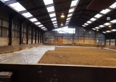 Renovatie manege rijhal